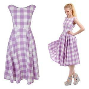 Bright & Beautiful Pauline Oversized Gingham Dress